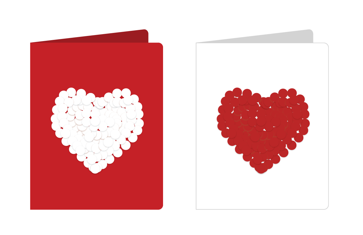 Valentine's Day Card Activity for Kids