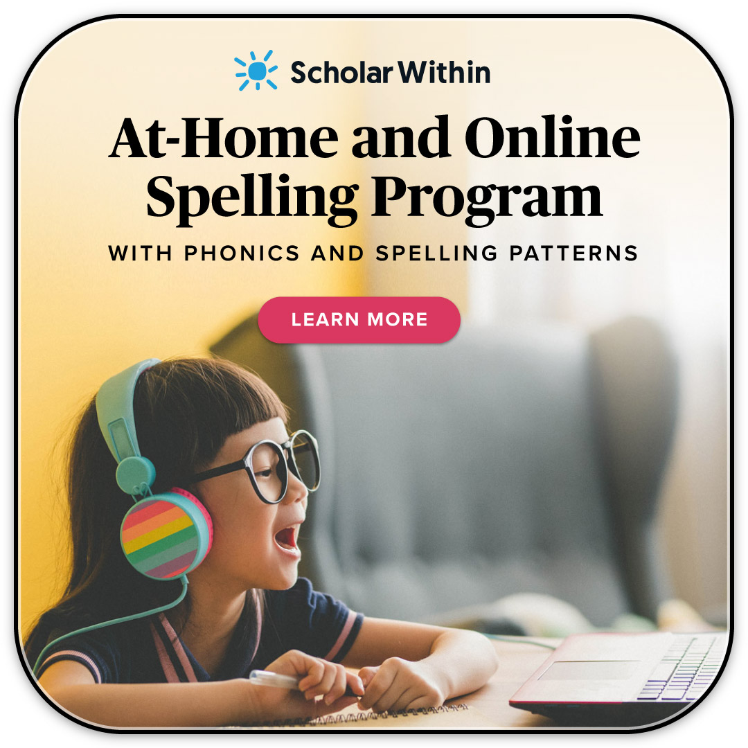 At-Home Online Spelling Program With Phonics and Spelling Patterns
