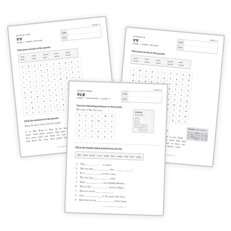 1st Grade Spelling Puzzle Word Search