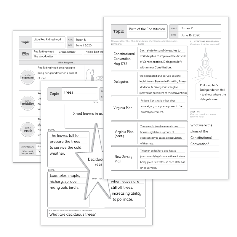 Reading Comprehension Strategy: Graphic Organizers
