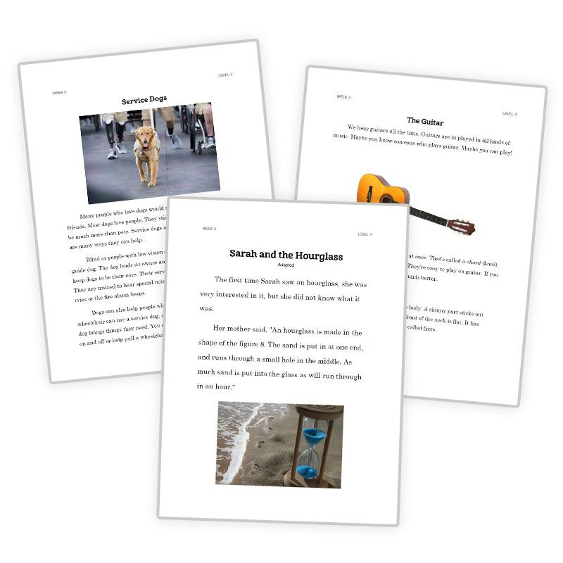 3rd-Grade Reading Curriculum 3rd-Grade Reading Passages