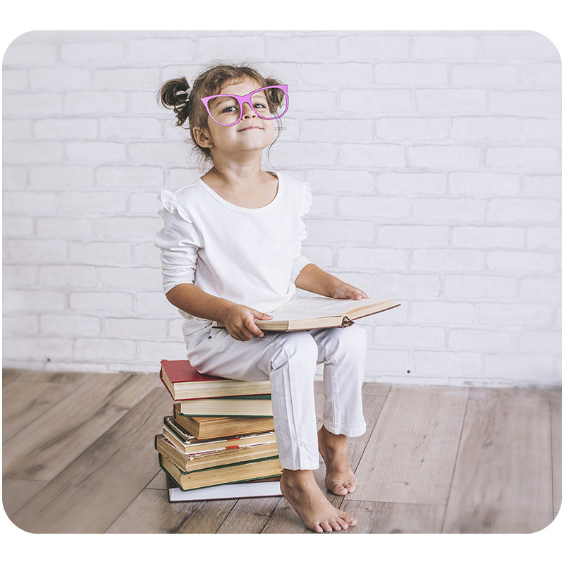 5-Year Old Love to Read