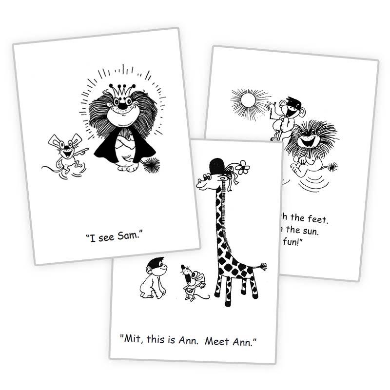 Kindergarten Reading Fun Picture Books