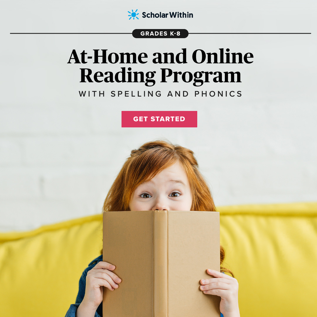 At-Home and Online Reading Program with Spelling and Phonics
