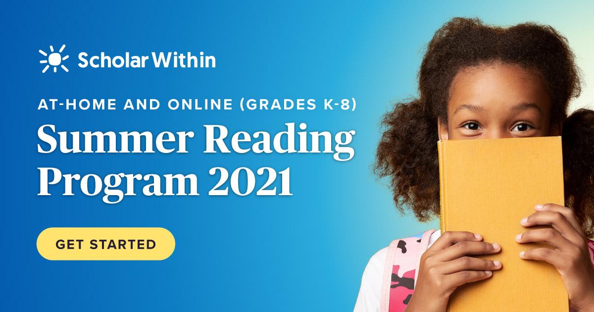 Summer Reading Program 2021: Grades K-8